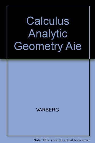 9780131178397: Calculus Analytic Geometry Aie
