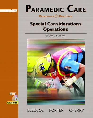 9780131178410: Paramedic Care: Principles and Practice, Volume 5: Special Considerations Operations (2nd Edition)