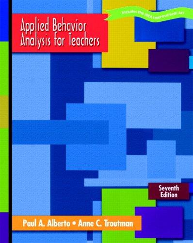 9780131179943: Applied Behavior Analysis for Teachers (7th Edition)