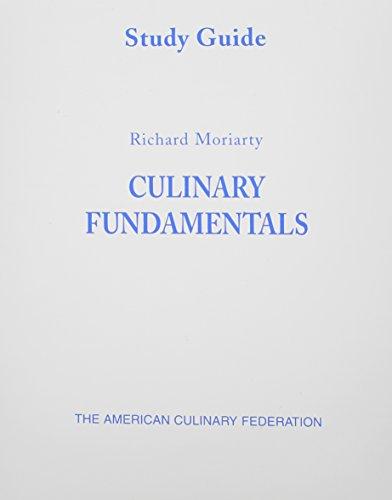 9780131180130: Study Guide (Culinary Fundamentals)