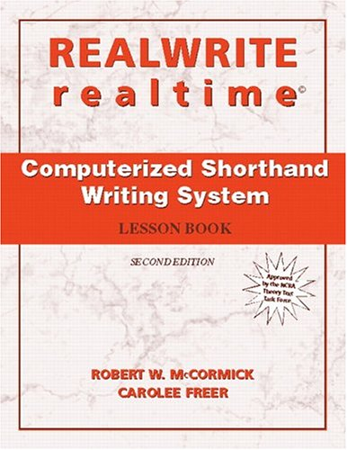 9780131180529: REALWRITE/realtime Computerized Shorthand Writing (2nd Edition)