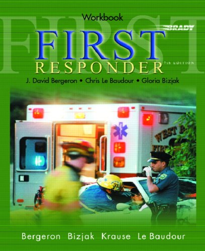 9780131180888: First Responder (Workbook)