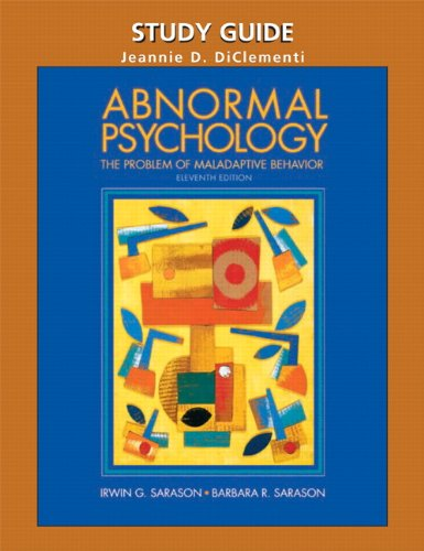 9780131181137: Abnormal Psychology: the problems of maladaptive behavior eleventh edition
