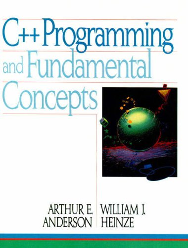 9780131182660: C++ Programming And Fundamental Concepts