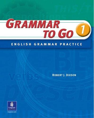 9780131182837: Grammar to Go, Level 1: English Grammar Practice