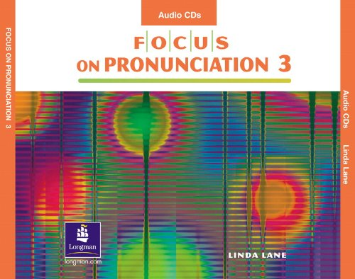 9780131182882: Focus on Pronunciation 3, Audio CDs (4)