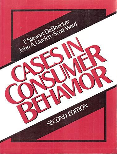 9780131183322: Cases in Consumer Behavior