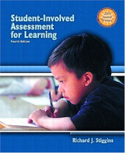 9780131183490: Student-Involved Assessment FOR Learning (4th Edition)