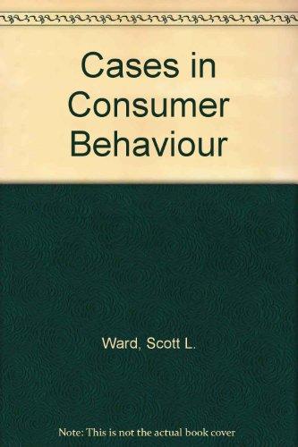 9780131183568: Cases in Consumer Behaviour