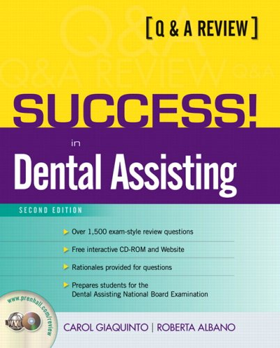 9780131184206: Success! in Dental Assisting: A Q&A Review (2nd Edition)