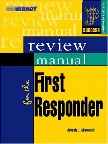 9780131184398: Review Manual for the First Responder