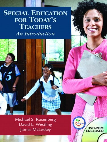 9780131185609: Special Education for Today's Teachers: An Introduction