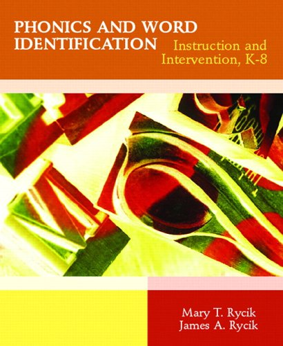9780131186637: Phonics and Word Identification: Instruction and Intervention K-8