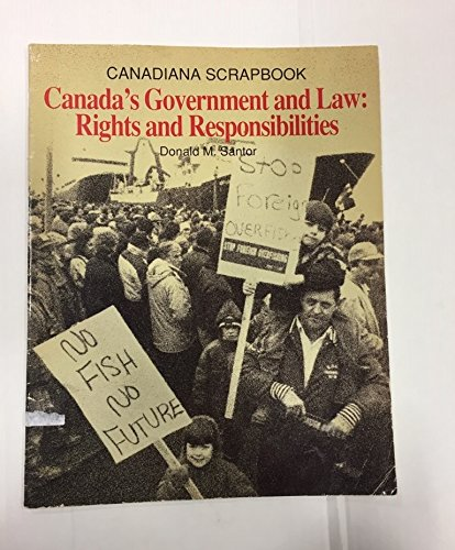 9780131186965: Canada's Government and Law Rights and Responsibilities