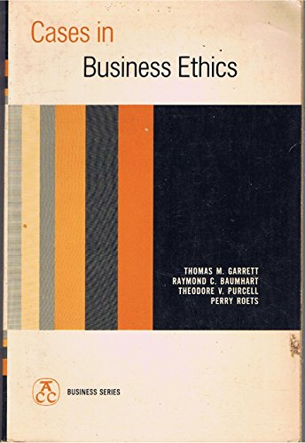 9780131187030: Cases in Business Ethics