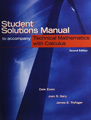 9780131187429: Student Solutions Manual