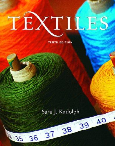 9780131187696: Textiles (10th Edition)