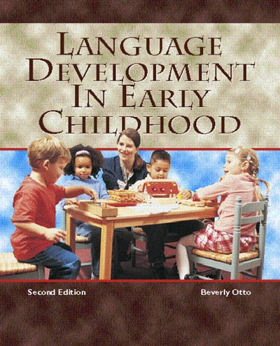 9780131187719: Language Development in Early Childhood (2nd Edition)