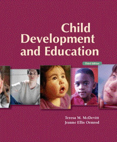 9780131188174: Child Development and Education (3rd Edition)