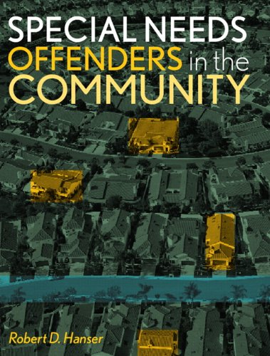 9780131188723: Special Needs Offenders in the Community