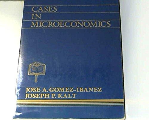 9780131188860: Cases in Microeconomics