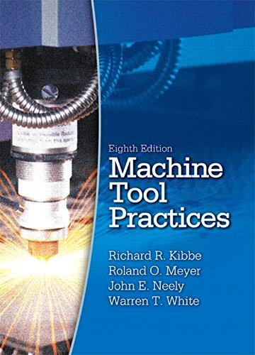 Machine Tool Practices (8th Edition): Kibbe, Richard R.;