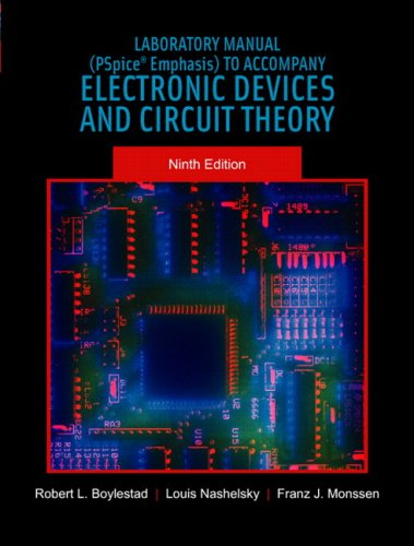 9780131189065: Electronic Devices and Circuit Theory: Lab Manual (Pspice Emphasis)
