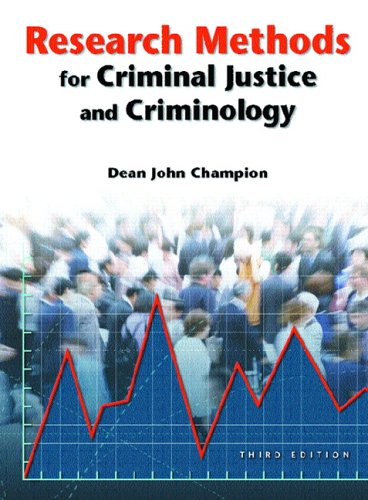 9780131189287: Research Methods for Criminal Justice and Criminology (3rd Edition)