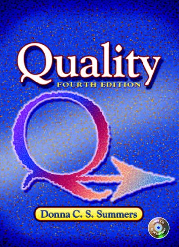 9780131189317: Quality (4th Edition)