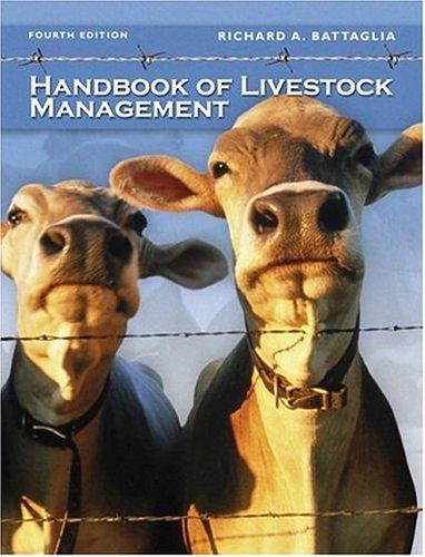 9780131189331: Handbook of Livestock Management