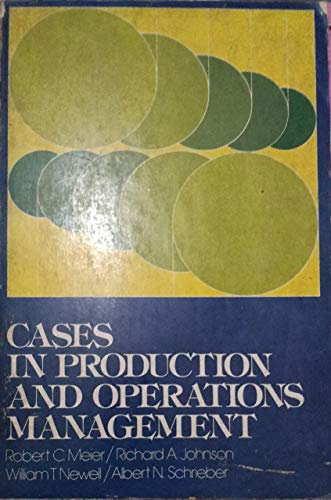 9780131189508: Cases in Production and Operations Management