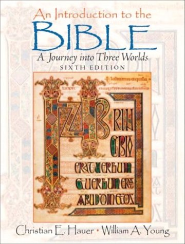 9780131189669: Introduction to the Bible, An (6th Edition)