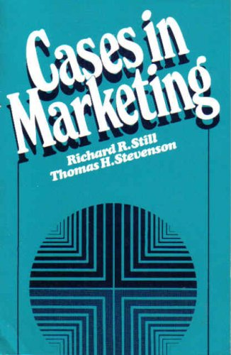 9780131189850: Cases in Marketing