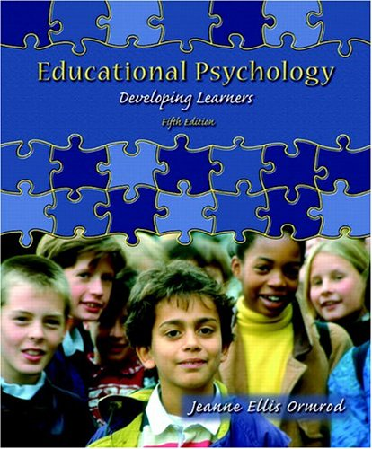 9780131190870: Educational Psychology: Developing Learners (5th Edition)