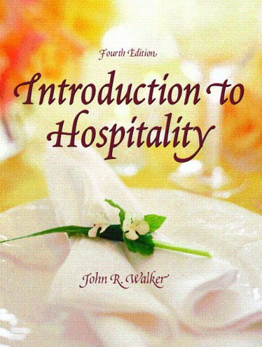 9780131191013: Introduction to Hospitality (4th Edition)