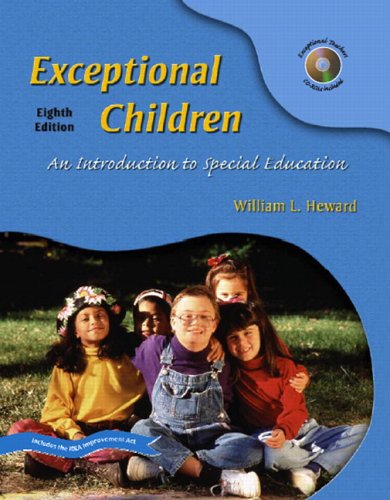 9780131191709: Exceptional Children: An Introduction to Special Education (8th Edition)