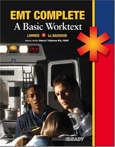 9780131192652: EMT Complete: A Basic Worktext