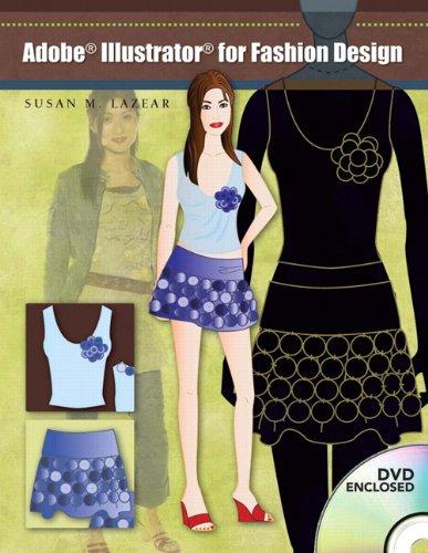 9780131192744: Adobe Illustrator for Fashion Design