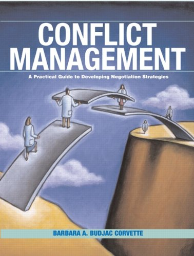 9780131193239: Conflict Management: A Practical Guide to Developing Negotiation Strategies