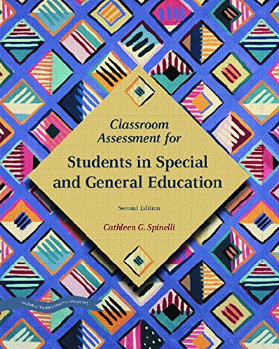 9780131193536: Classroom Assessment for Students in Special and General Education (2nd Edition)