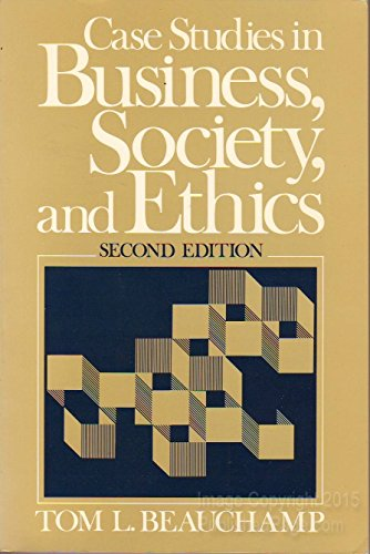 9780131193550: Case Studies in Business, Society and Ethics