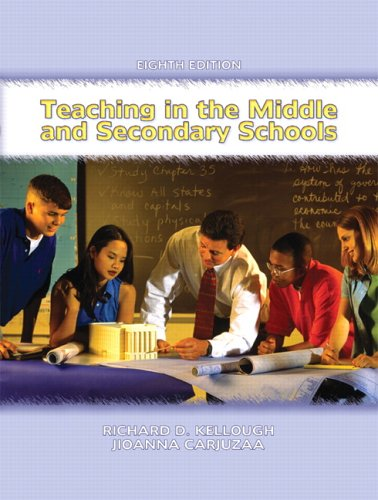 9780131193734: Teaching in the Middle and Secondary Schools (8th Edition)