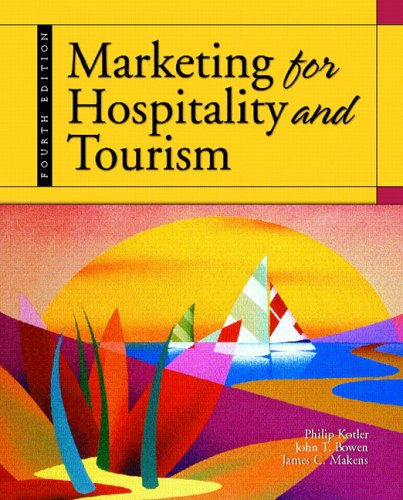 9780131193789: Marketing for Hospitality and Tourism: United States Edition