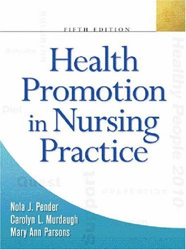 9780131194366: Health Promotion in Nursing Practice