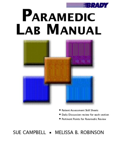 9780131194373: Paramedic Lab Manual