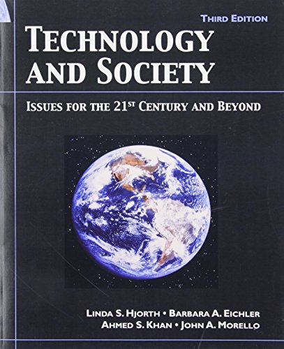 9780131194434: Technology and Society: Issue for the 21st Century and Beyond, 3rd Edition