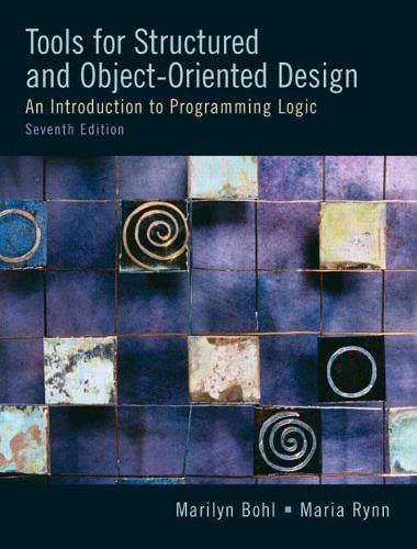 9780131194458: Tools For Structured and Object-Oriented Design (7th Edition)