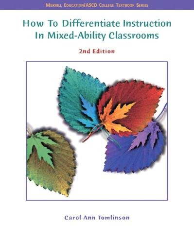 9780131195004: How to Differentiate Instruction in Mixed Ability Classrooms (Merrill Education/ASCD College Textbooks)