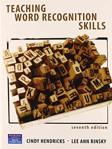 9780131195974: Teaching Word Recognition Skills (7th Edition)