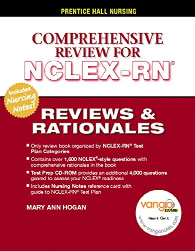 9780131195998: Prentice Hall's Reviews and Rationales: Comprehensive NCLEX-RN Review (Prentice Hall Nursing Reviews & Rationales)